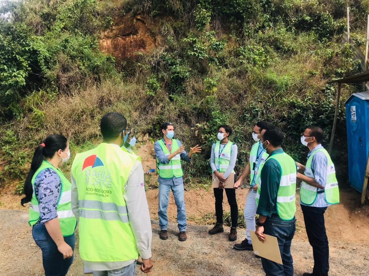 Bahia Norte realiza programa de inspeção de segurança com líderes da empresa